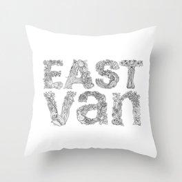 East Van Throw Pillow