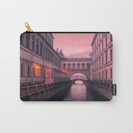 Hermitage Bridge, Saint Petersburg, Russia Carry-All Pouch