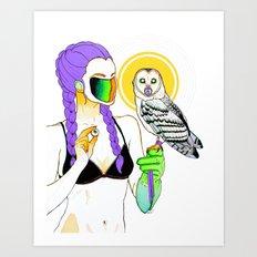 Feed the Bird Art Print