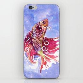 Fish Swirl iPhone Skin