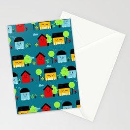 Jolies maisons Stationery Cards
