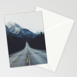 Mountain Road #forest Stationery Cards