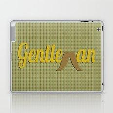Gentleman (Long Mustache) Laptop & iPad Skin
