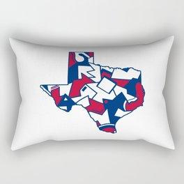 Lone Star State Love Rectangular Pillow