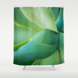Green Hope Shower Curtain