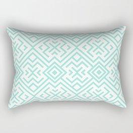 Lost in mykonos Rectangular Pillow