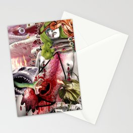 Lizard Queen Empire Stationery Cards