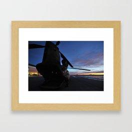 Morning Flight. Framed Art Print