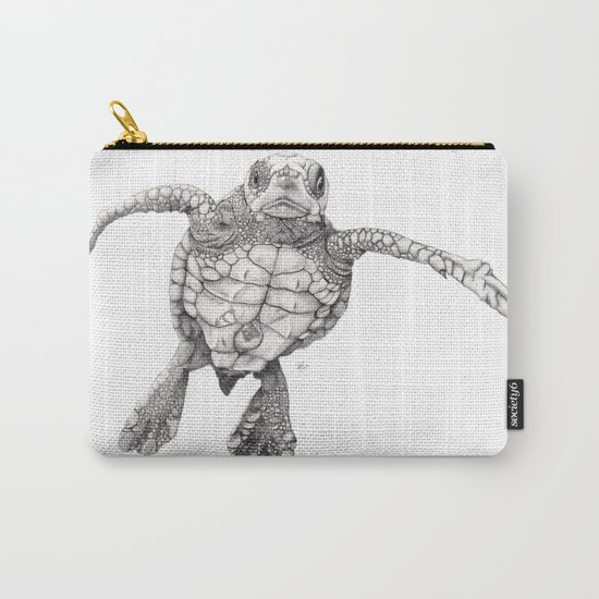 Chelonioidea (the turtle) Carry-All Pouch