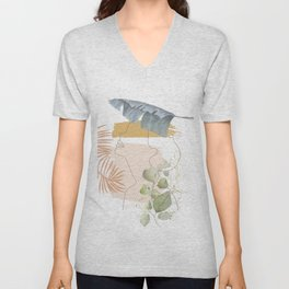 Line in Nature I Unisex V-Neck