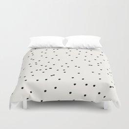 Dashing Dots Pattern Duvet Cover