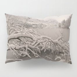 Frozen Lake Bohinj Pillow Sham