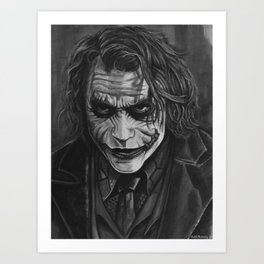 Let's Put A Smile On That Face Art Print