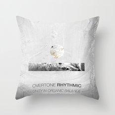 Overtone Rhythmic Throw Pillow