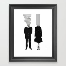 Neuro V1V2 Framed Art Print