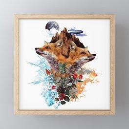 FOX II Framed Mini Art Print