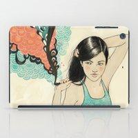 swim iPad Cases featuring swim by Laura Graves