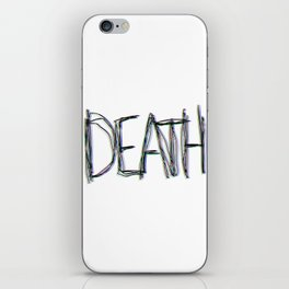 Trippy Death iPhone Skin