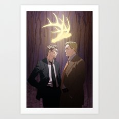The King in Yellow (True Detective) Art Print