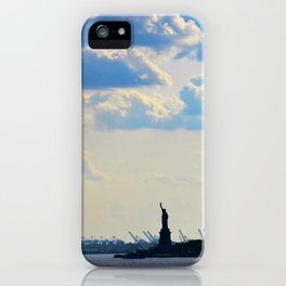 Silhouette Lady iPhone Case