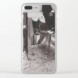 ALL YOUR BASS Clear iPhone Case