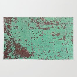 Copper Rusty Surface Rug