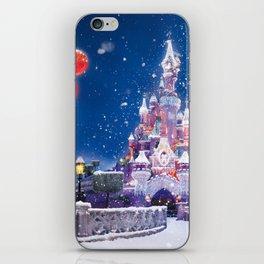 Winter fairy tale iPhone Skin