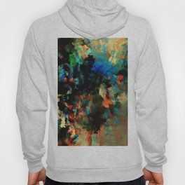 Colorful Landscape Abstract Painting Hoody