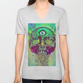 Mana Skull Unisex V-Neck