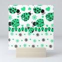 Cute Ladybugs green by debramiller