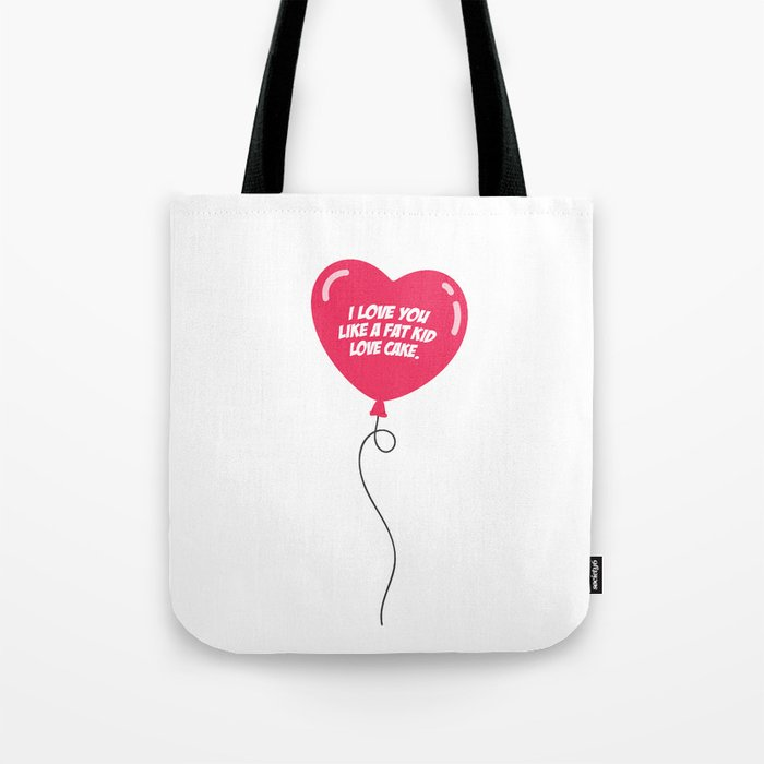 HEART BALLOON Tote Bag
