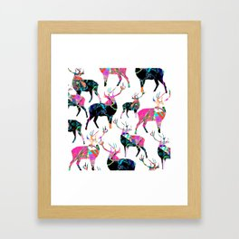Dear'O'Deer Framed Art Print