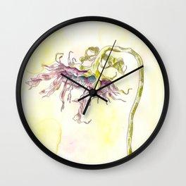A Gentle Rain Wall Clock