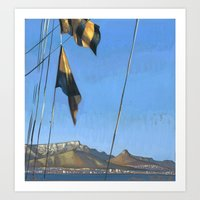 South Africa, le Cap Art Print