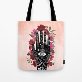 Touching the sky. Cosmic Art Tote Bag