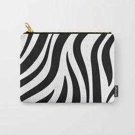 Zebra Print Pattern Carry-All Pouch