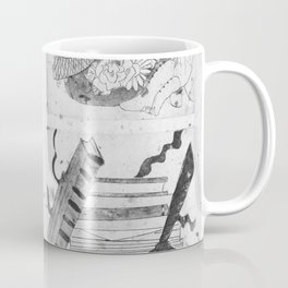 Anne of Green Gables Black & White Coffee Mug