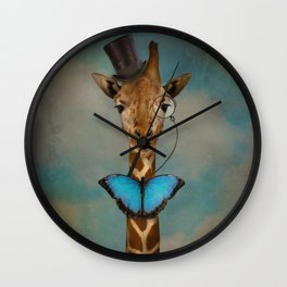 Sir Alfred Wall Clock