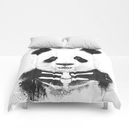 Zombie panda Comforters