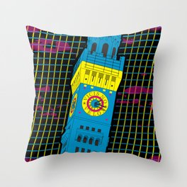 Bawlmer in CMYK Throw Pillow