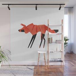 Origami Hyena Wall Mural