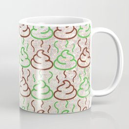 Poop Pattern Coffee Mug