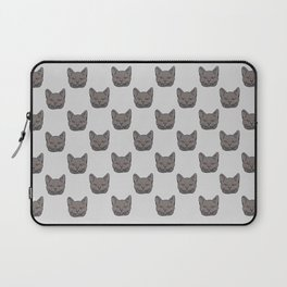 Gray cat Laptop Sleeve