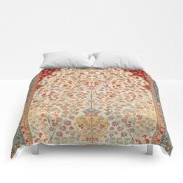 Kashan Central Persian Rug Print Comforters