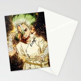 Dr Stone   Senku Ishigami Stationery Cards