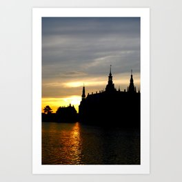 Sunset on the Kingdom Art Print