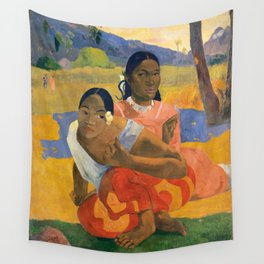 Affordable Art $300,000,000 When Will You Marry by Paul Gauguin Wall Tapestry