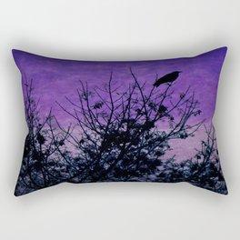 Raven Sentinel Rectangular Pillow