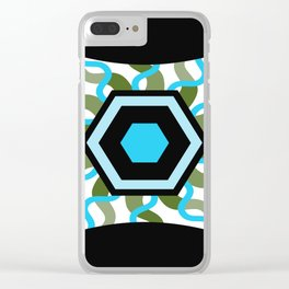 Integrate Focus and Stress Relief Clear iPhone Case