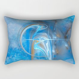 Birth of a storm Rectangular Pillow
